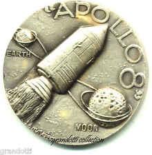 APOLLO 8 MISSIONE SPAZIO 1968 MEDAGLIA AFFER