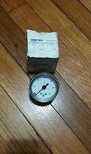 """Ametek P844U  30 psi pressure gauge, 2 1/2"""", 1/8"""" NPT panel mountable, Lot of 1"""