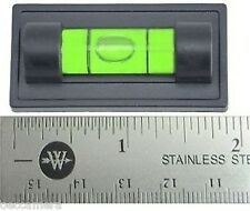 100 x Large Magnetic Magnet Bubble Spirit Level 25mm Vial ideal for Tripod NEW