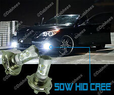 H4 XENON WHITE HIGH POWER HID CREE LED 50W DRL CAR FOG LIGHT LED BULBS (pair)