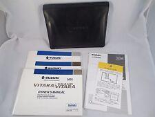 Suzuki Grand Vitara XL-7 XL7 2002 02 Owners Manual Set Case Book OEM Handbook
