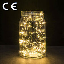30 LED 9.8FT Copper Wire LED Light Warm White String Fairy Light Battery Outdoor