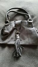 Patrick Cox grey leather handbag