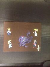 FINAL FANTASY VI opera Scene Ultras  1 Of A Kind Hand Painted 8x10 Canvas Art