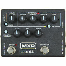 MXR M-80 Bass Direct Box with Distortion  M80 - Guitar Effect Pedal - New boxed