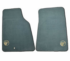 New Oem Genuine Factory Mercury Grand Marquis Logo Floor Mats Willow Green