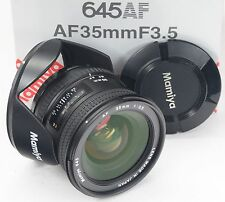 MAMIYA Af 645 35mm 3.5 + Hood - Boxed -