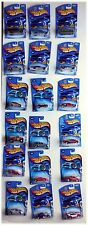 LOT 18 ALL DIFFERENT HOT WHEELS 2003 FIRST EDITIONS ORIGINAL PACKAGE
