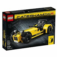 LEGO Ideas Caterham Seven 620R 21307 Brand New! Free Shipping!