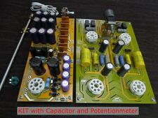 Famous circuit refer Cary Tube preamplifier DIY KIT 6SN7 preamp bestsound by ZHI