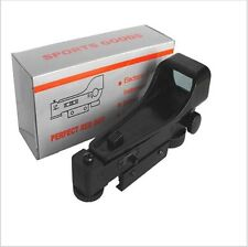 Compact Hunting Red Dot Sight Tactical 11mm Holographic 1x22x33 Reflex Sight