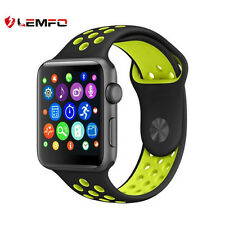 New Lemfo IWO 42mm Bluetooth Wireless Deporte Reloj Inteligente Para Android IOS