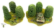 Wargames Scenery woodland bases Warhammer Flames Of War Bolt Action Dust Tactics