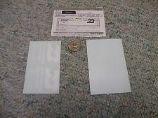 Walthers  decals HO Freight 219-40 Burlington Northern white  N54