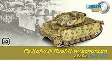 Dragon Armor 1/72 Scale WWII German Panzer Pz.Kpfw.III  Kursk 1943 Tank 60452