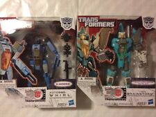 TRANSFORMERS GENERATIONS Whirl And Brainstorm Headmaster Voyager Class