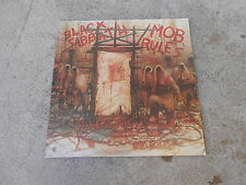 BLACK SABBATH-MOB RULES-LP-SIGNED-AUTOGRAPHED BY VINNY APPICE-NM