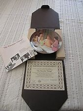 """Sound of Music """"My Favorite Things"""" 1986 Knowles Porcelain w/box & Certificate"""