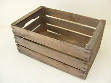 Talla antiguo Caja de transporte madera, Vintage Loft Decodificación Madera