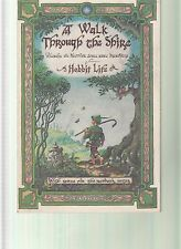 A WALK THROUGH THE SHIRE A HOBBIT LIFE LORD OF THE RINGS ILLUSTRATED JOURNAL