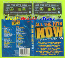 2 MC ALL THE HITS NOW Primavera 2000 TOM JONES BLINK 182 LITFIBA cd lp dvd vhs