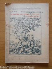 1923 COLLEGIO ALLA QUERCE CONVITTO SUOI MORTI IN PRIMA GUERRA MONDIALE FIRENZE