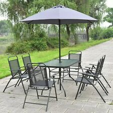 7 Piece Patio Dining Set Garden Lawn Furniture Outdoor Table Deck Pool Chairs