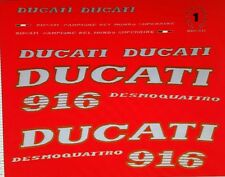 DUCATI 916 748  MODEL  PAINTWORK DECAL KIT
