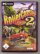 Roller Coaster RollerCoaster Tycoon 2 Time Twister Expansion Pack ADDON PC Spiel