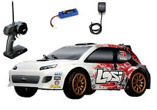 Losi 1/24 4WD Rally Car RTR Red Spatter w/ Radio,Battery & Charger LOSB0241T4