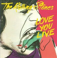 Love You Live [Remaster] by The Rolling Stones (CD, Nov-1998, 2 Discs, Virgin)