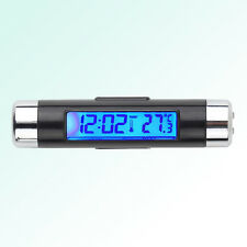 Reloj / Termómetro  LCD para rejilla de ventilación del coche - Diseño moderno