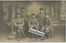 Portrait Gruppenfoto-Soldaten Infanterie Regiment 166 -Bitsch  (U203)