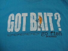 Got Bait Go Fish Academy Outdoors Sports Hook Lake Summer T Shirt XXL