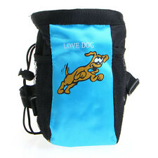 Pet Dog Puppy Training Treat Snack Bag Feed Bait Pouch Belt New