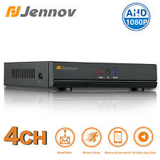 Jennov 1080N Hybrid AHD DVR NVR Security video recorder H.264 Phone support 4CH