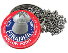 CROSMAN PIRANHA HOLLOW POINT .22 5.5 mm 400 pcs. Air rifle Airgun pellets
