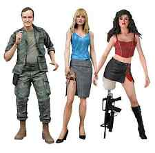 """Neca Grindhouse - Planet Terror Set of 3 7"""" Scale Action Figure (Rose McGowan)"""