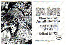 EVIL ERNIE Series 3 - Parallel Necrochrome Sticker Chase Card - Pick From Many