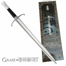"""NEW Game of Thrones Collectable JON SNOW Letter Opener 23cm  9"""" LONGCLAW SWORD"""