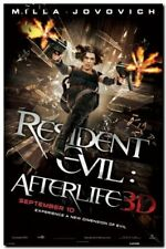 Poster Resident Evil Afterlife Originale Import UK