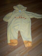 Infant Size 9-12 Months Looney Tunes Hooded Pram Baby Tweety Bird Costume EUC