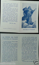 OLD BLESSED ASSUMPTION OF VIRGIN MARY HOLY CARD ANDACHTSBILD SANTINI      C861