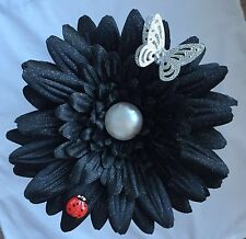 VW Beetle / Any Car - Giant Gerbera Flower With Butterfly and Ladybug.