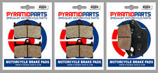 Yamaha 800 Fazer8 2010 Front & Rear Brake Pads Full Set (3 Pairs)