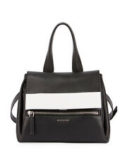 GIVENCHY PANDORA black bag PURE BICOLOR SATCHEL Black/White 2700.00 new