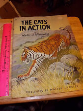 The Cats in Action, by Walter Wilwerding, How to draw book beautiful collectible