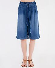 Blue Denim culotte pants