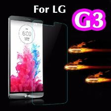 100% Genuine Tempered Glass 9H Screen Protector Real Japan Glass For LG G3