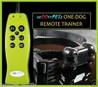 GROOVYPETS RECHARGEABLE SMALL MEDIUM LARGE REMOTE 1 DOG TRAINING SHOCK COLLAR